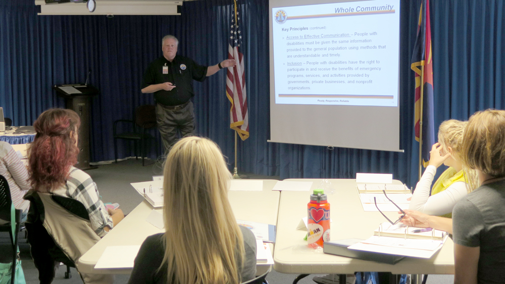 Emergency Response Interpreter Credential training