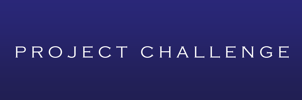 Project Challenge Banner