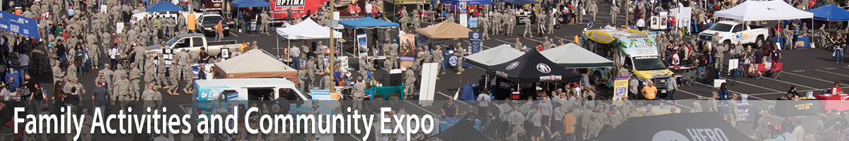 Family activities and Community Expo