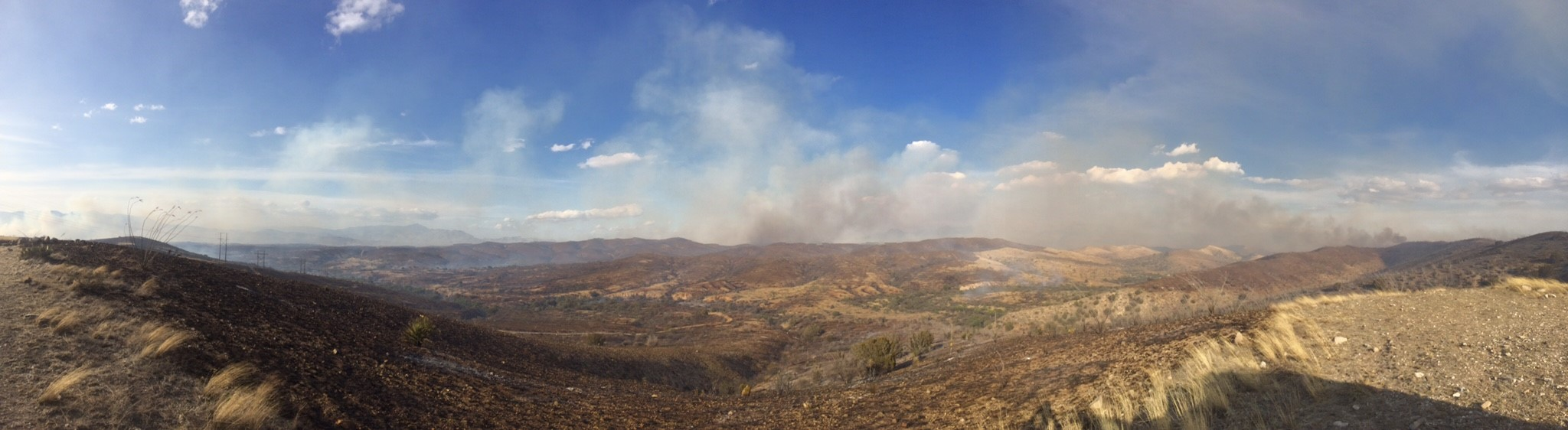 Image of Sawmill Fire, April 2017