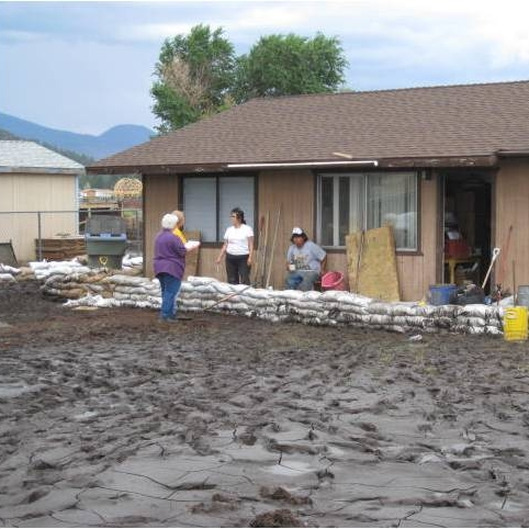 Schultz Flood PDA near Flagstaff, July 2010. Photo by: DEMA staff