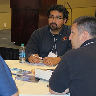 Planning Table Top Exercise in Phoenix, October 2015.  Photo by: DEMA Staff