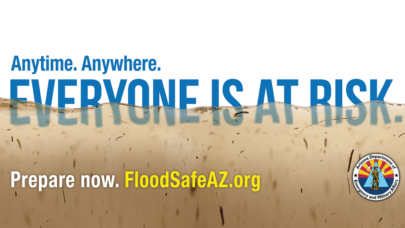 DEMA's Anytime Anywhere campaign promotes flood awareness.
