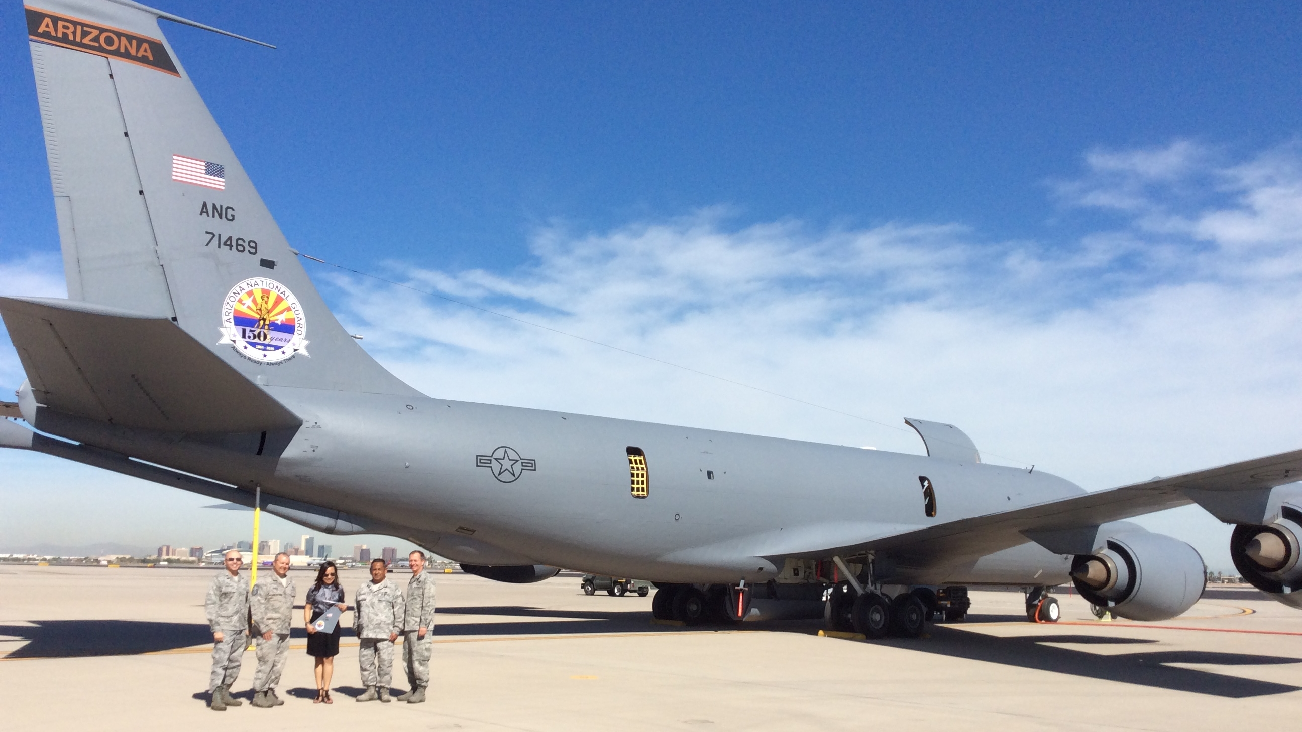 image of 161st Air Refueling Wing plane