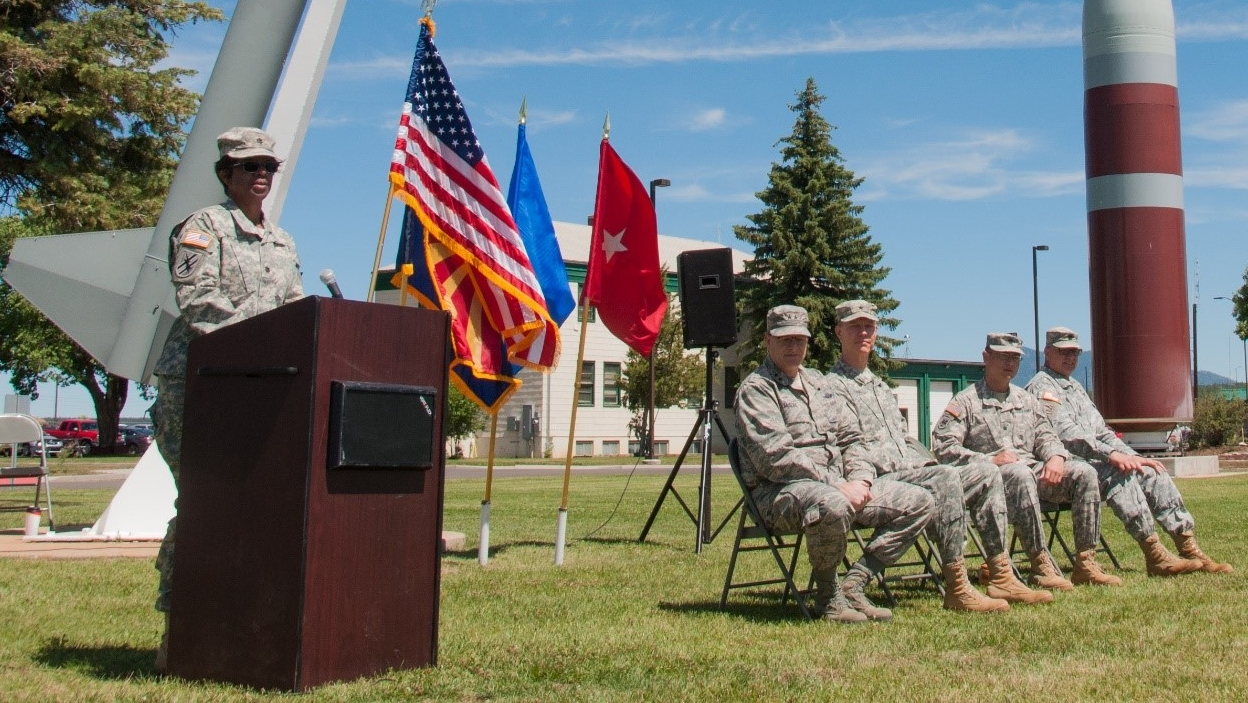 Camp Navajo Change of Command