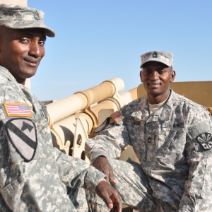 Army Guard Twins promoted