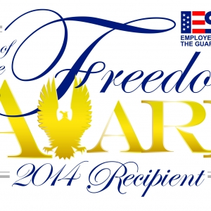 Graphic for the 2014 Secretary of Defense Freedom Award