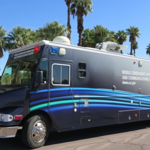 Mobile Emergency Operations and Communications Center